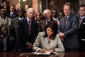 Republican Gov. Nikki Haley signed Davis' bill into law in June 2014, legalizing CBD oil for epilepsy patients in South Carolina.